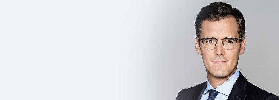 Adrien Borne, journaliste sur LCI