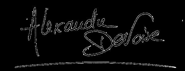 Visuel de la signature d'Alexandre Devoise, présentateur sur TF1 : Téléshopping
