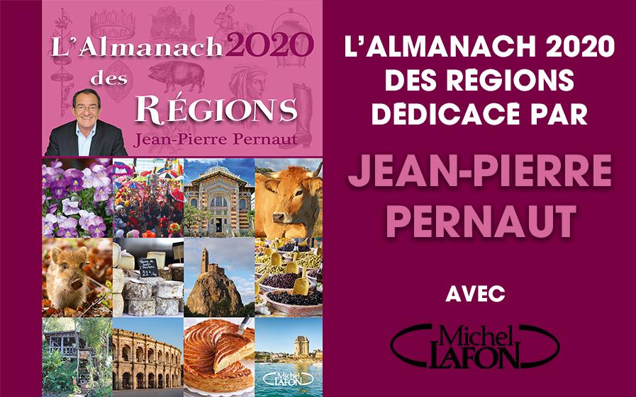 L'almanach des régions 2020 de Jean-Pierre Pernaut