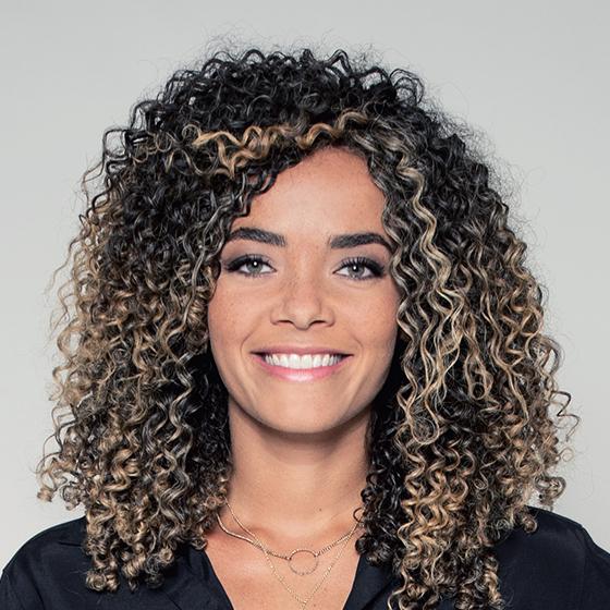 Anaïs Grangerac, présentatrice
