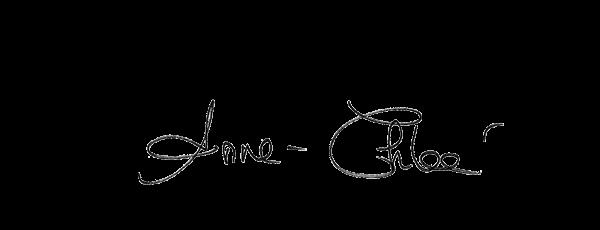 Visuel de la signature d'Anne-Chloé Bottet, journaliste sur LCI