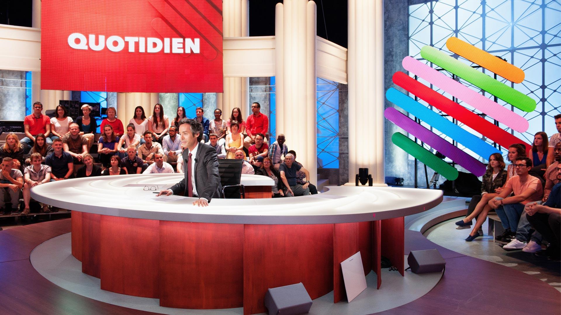 Assistez à l'émission Quotidien présentée par Yann Barthès
