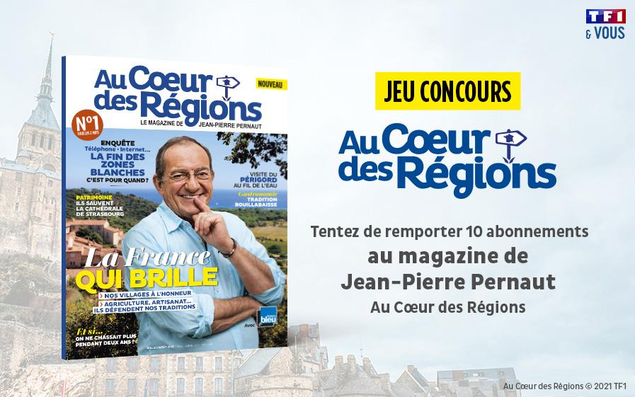 Jean-Pierre Pernaut vous invite à un voyage « Au Cœur des Régions »