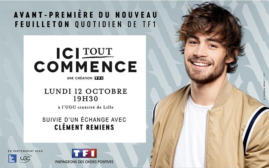 Assistez à l'avant-premire d'Ici tout commence en présence de Clément Rémiens