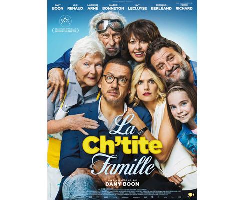 Affiche du film La Ch'tite Famille, projection label téléspectateur TF1 & Vous