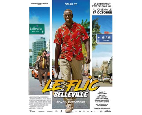 Affiche du film Le flic de Belleville, projection label téléspectateur TF1 & Vous