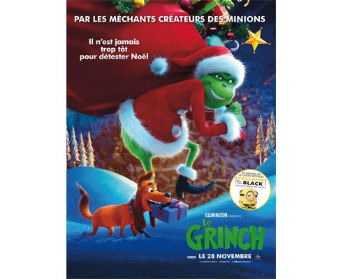 Affiche du film Le Grinch, projection label téléspectateur TF1 & Vous