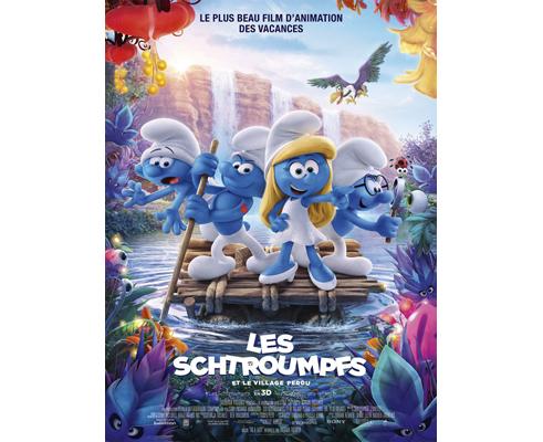 Affiche du film Les schtroumpfs et le village perdu, projection label téléspectateur TF1 & Vous