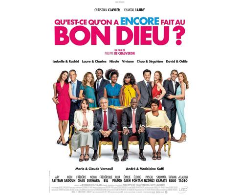 Affiche du film Qu'est-ce qu'on a encore fait au bon dieu, projection label téléspectateur TF1 & Vous