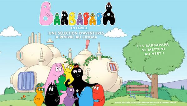 Barbapapa au cinéma avec TF1 & Vous