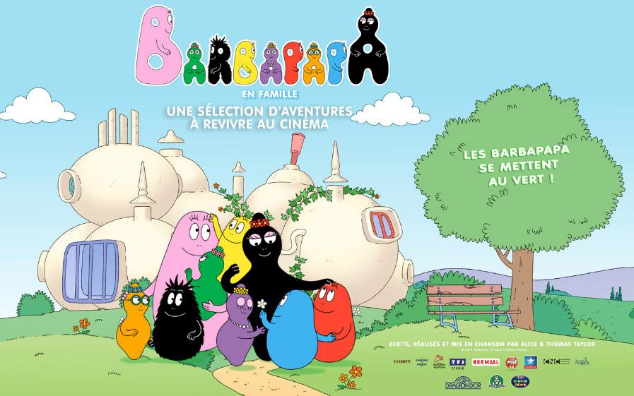 Les Barbapapa débarquent au cinéma