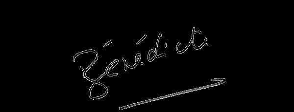 Visuel de la signature de Bénédicte Le Chatelier