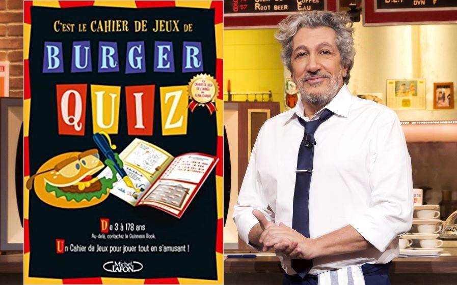 Gagnez le cahier de jeux Burger Quiz !