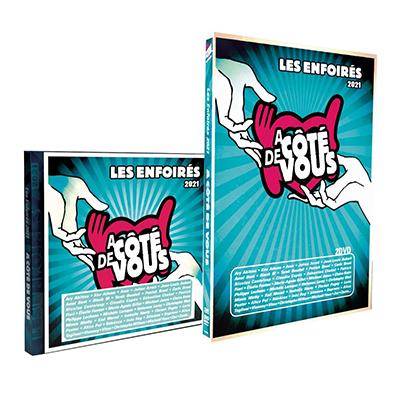 """Les Enfoirés 2021 - CD et DVD """"A côté de vous"""""""