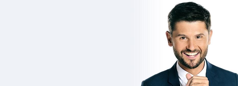 Christophe Beaugrand, présentateur sur TF1