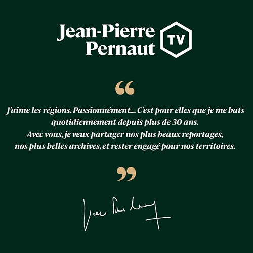 Jean-Pierre Pernaut à propos de la JPPTV
