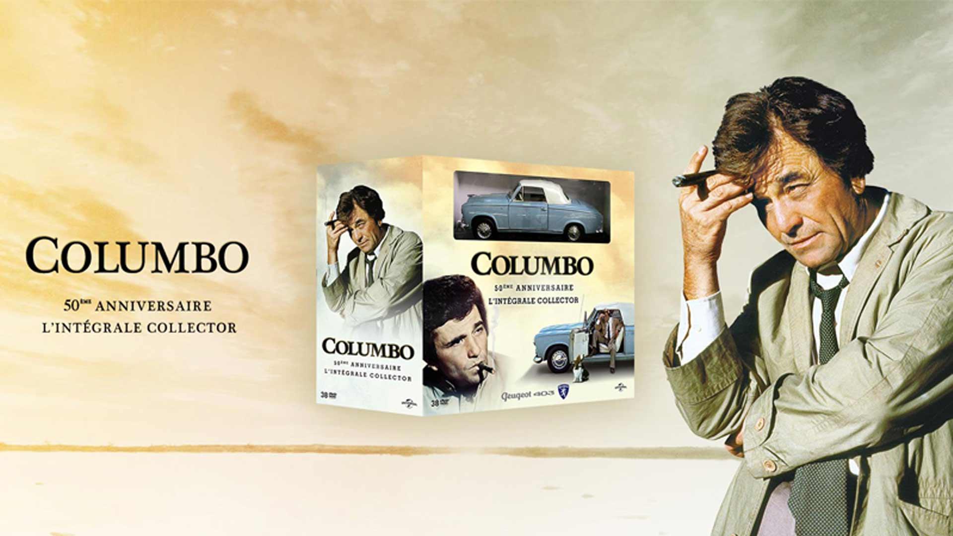 Visuel du jeu concours pour l'anniversaire des 50 ans de Columbo avec TV Breizh