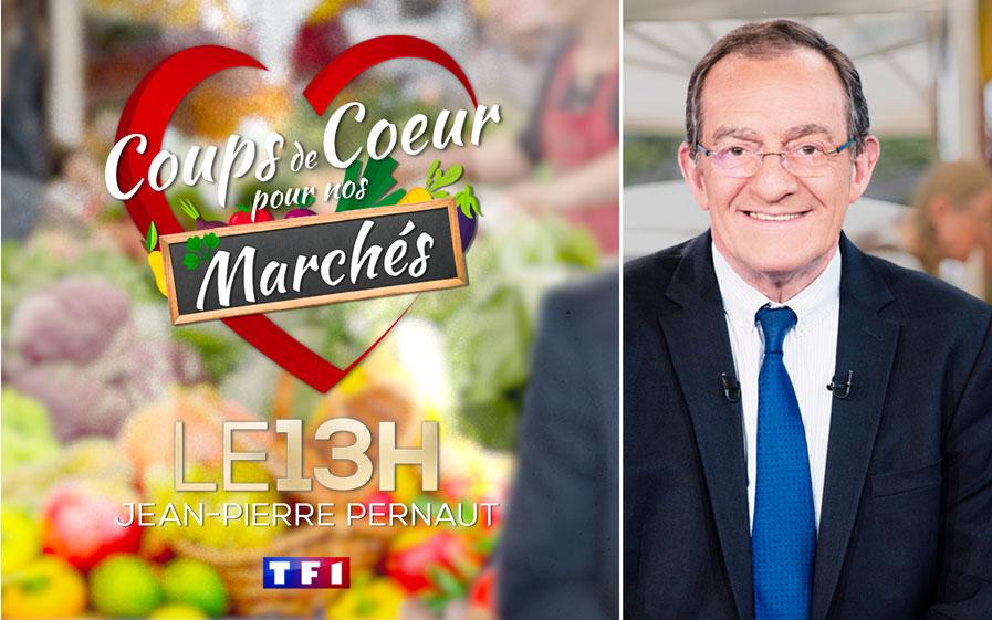 """La nouvelle opération initiée par Jean-Pierre Pernaut et son équipe : """"Coups de coeur pour nos marchés"""""""