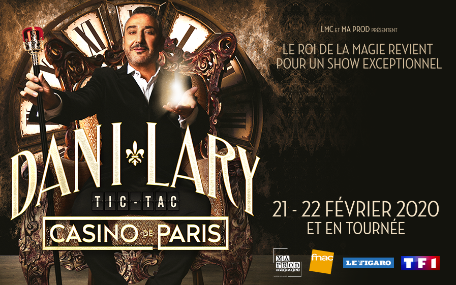 """TF1 vous offre des places pour le nouveau spectacle de Dani Lary, """"Tic- Tac"""" »"""