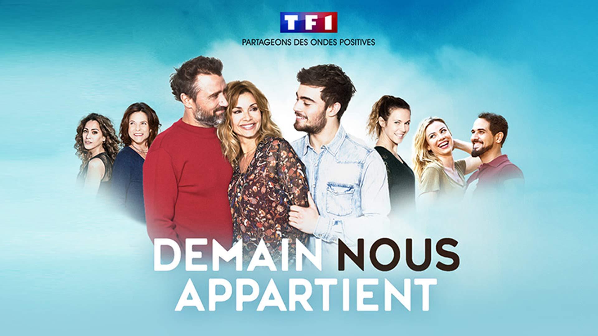 Visuel du jeu-concours pour gagner un voyage à Sète et rencontrer les comédiens de la série Demain Nous Appartient, avec TF1 et Vous