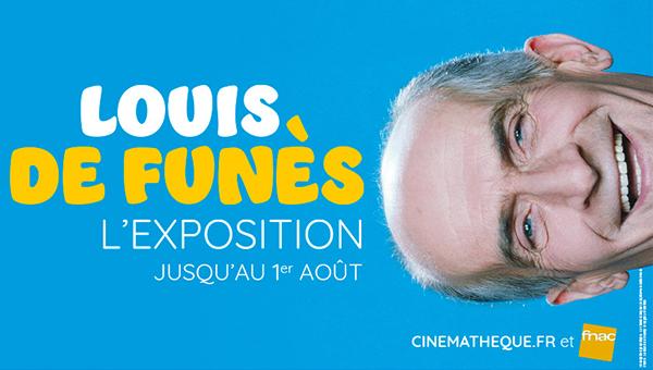 Expo Louis de Funès à la Cinémathèque