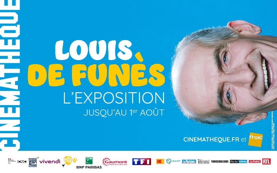 Exposition Louis de Funès à la Cinémathèque avec TF1 & Vous