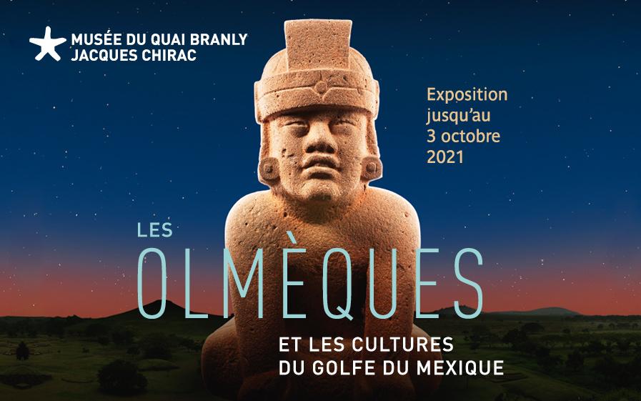 Les Olmèques au quai Branly avec TF1