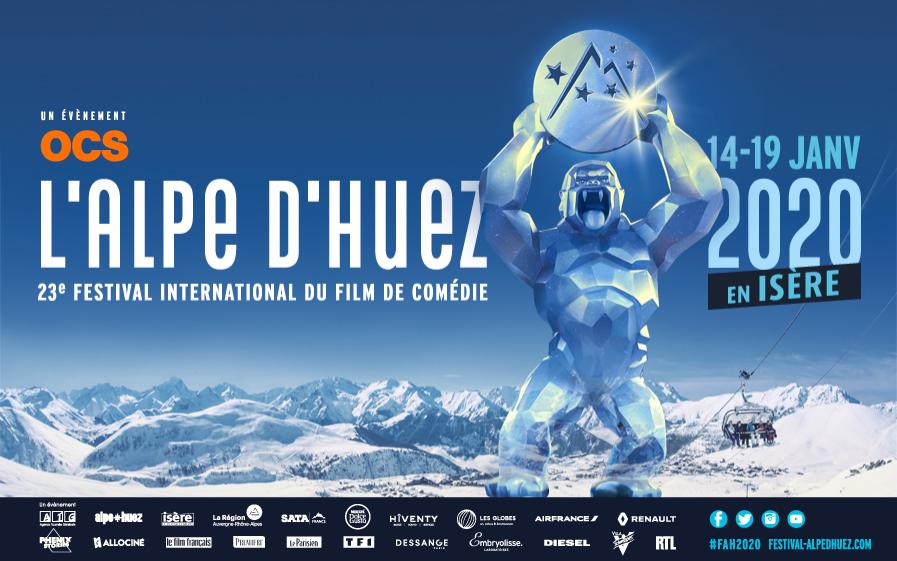 TF1 est un partenaire historique du Festival de l'Alpe d'Huez, du 14 au 19 janvier 2020 en Isère.