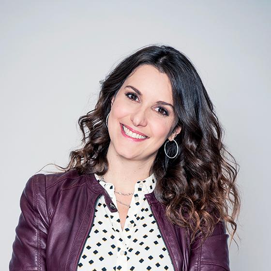 Fanny Agostini, présentatrice sur TF1 et Ushuaïa