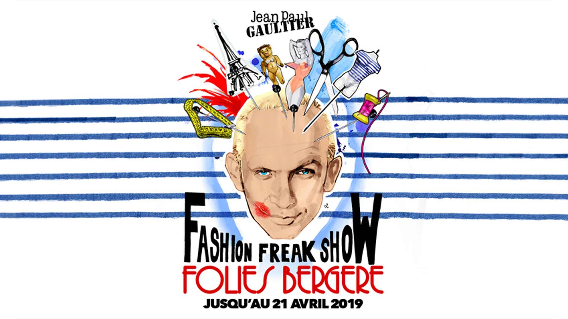 Visuel du jeu-concours pour assister au Fashion Freak Show de Jean Paul Gaultier avec TF1 et Vous