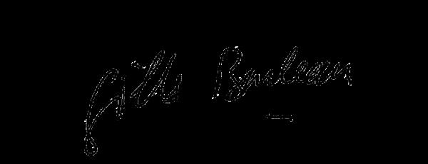 Visuel de la signature de Gilles Bouleau