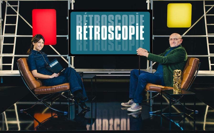 Hélène Mannarino et Jean-Paul Rouve dans Rétroscopie