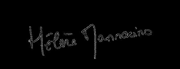 Visuel de la signature d'Hélène Mannarino, journaliste sur LCI et TFX