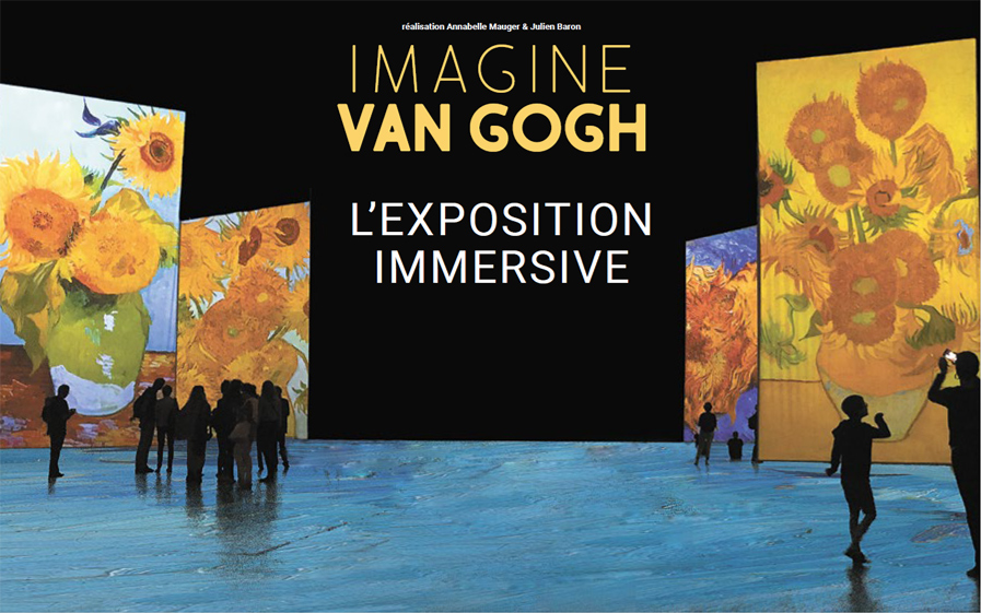 Exposition Imagine Van Gogh, au Carré des Docks au Havre