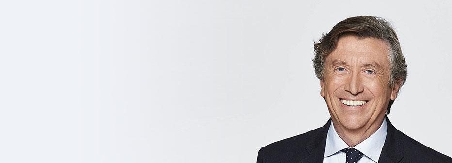 Jacques Legros, journaliste sur TF1