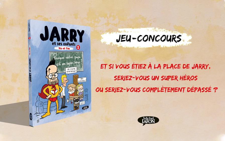 L'album « Jarry et ses enfants : Vic et Tim », tome 2