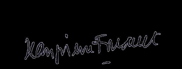 Visuel de la signature de Jean-Pierre Foucault