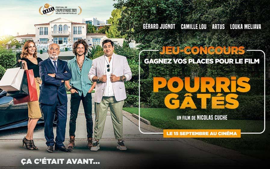 Jeu ciné Pourris gâtés avec TF1 & Vous