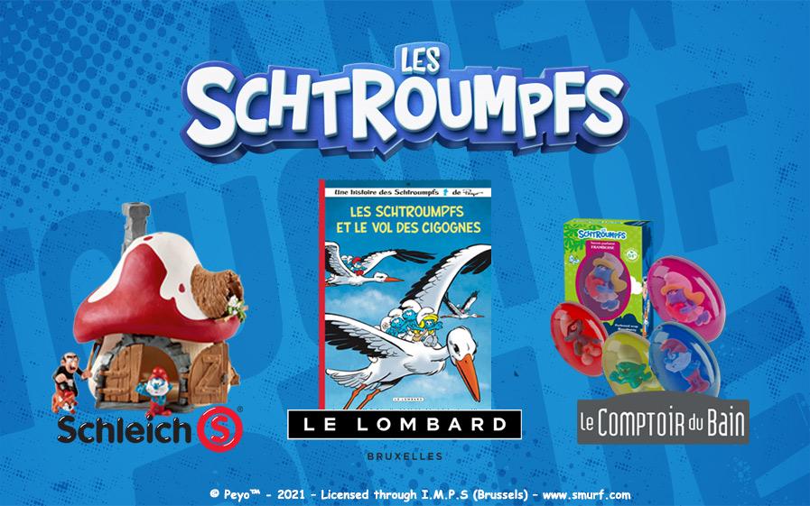 Jeu-concours Les Schtroumpfs avec TF1 & Vous