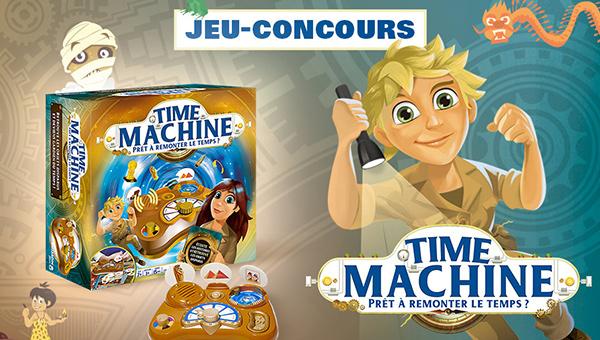 Jeu-concours Time Machine avec TF1 et Vous et Dujardin