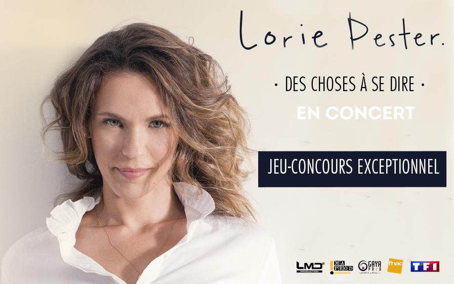 """Gagnez des places de concert, une rencontre exclusive avec Lorie Pester et visitez les studios de """"Demain Nous Appartient"""" !"""