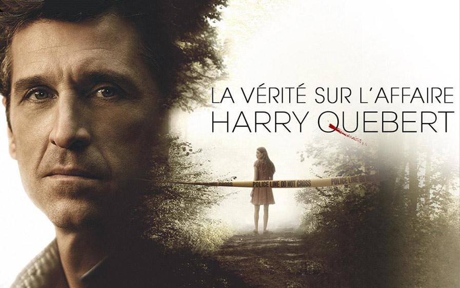 """Visuel du jeu-concours pour gagner le DVD de la série """"La vérité sur l'affaire Harry Quebert"""" avec TF1 et Vous"""