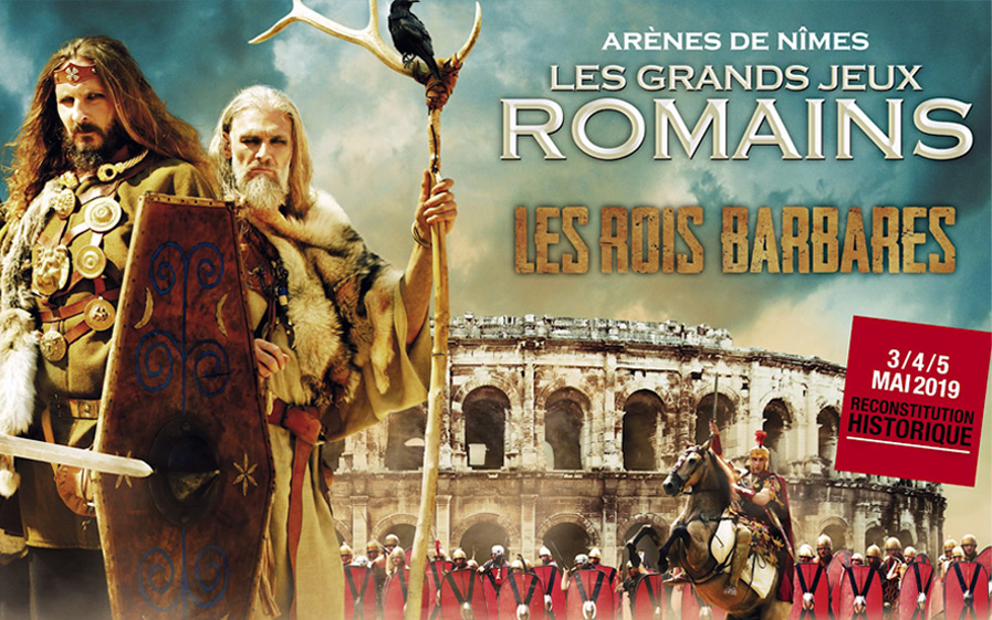 Visuel du jeu-concours pour assister au spectacle Les Grands Jeux Romains aux Arènes de Nîmes avec TF1 et Vous