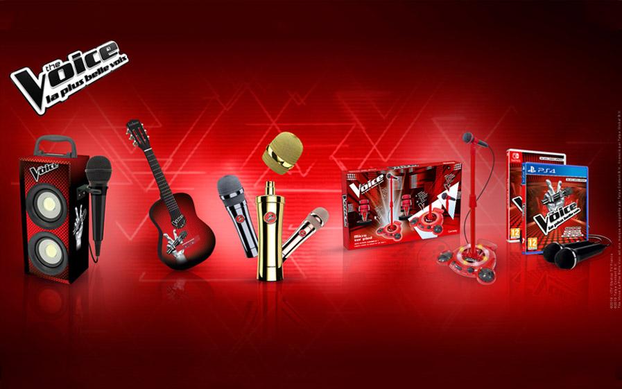 Visuel du jeu-concours pour gagner des cadeaux exceptionnels de l'émission The Voice avec TF1 et Vous