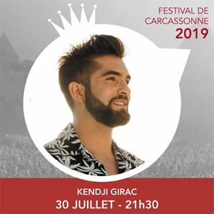 Gagnez vos places pour le concert de Kendji Girac au Festival de Carcassonne avec TF1 !