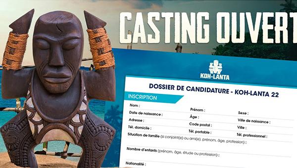 Casting Koh-Lanta décembre 2020