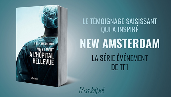 Jeu-concours livre New Amsterdam avec TF1