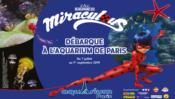 Places VIP Miraculous à l'Aquarium de Paris !