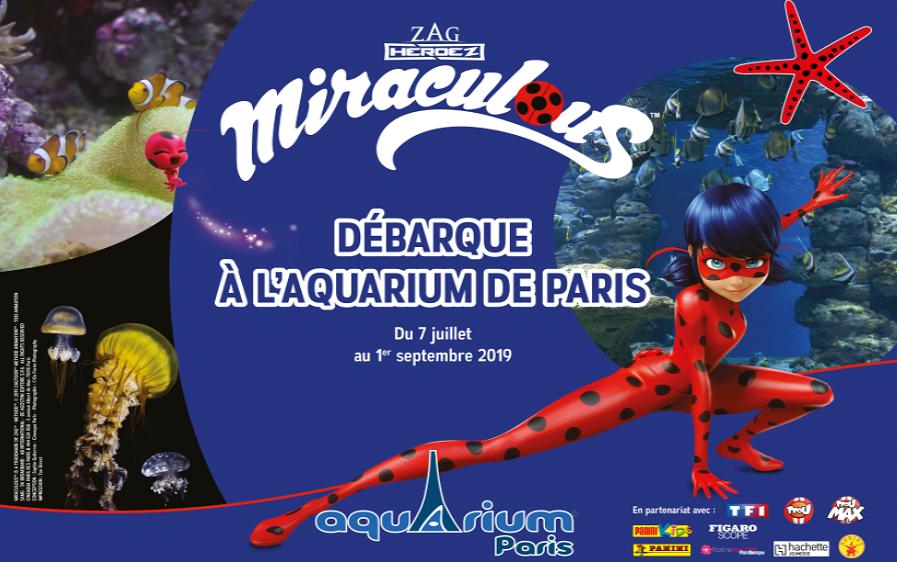 Visuel Miraculous à l'Aquarium de Paris