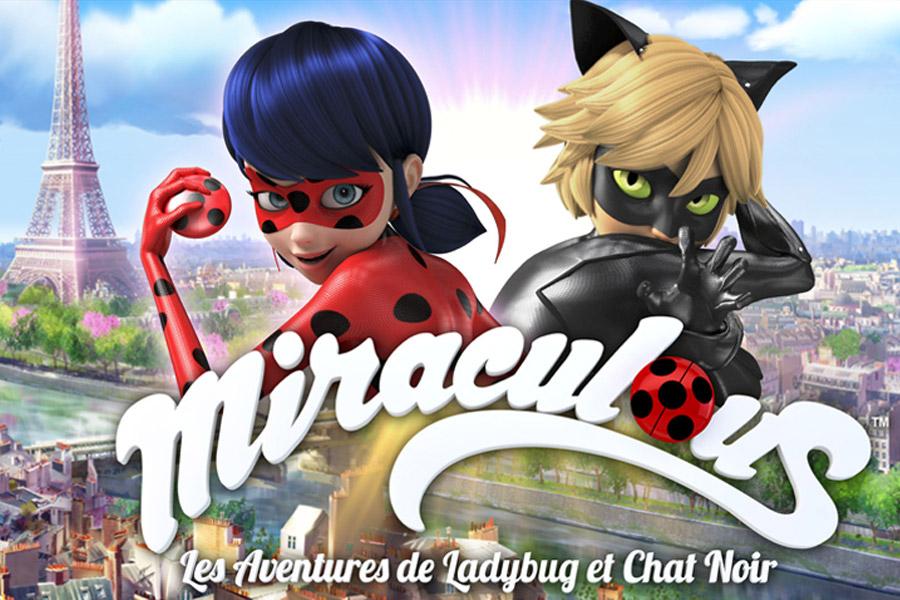 Visuel de l'événement Miraculous, Les Aventures de Ladybug et Chat Noir